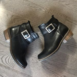 Wolky booties size 8